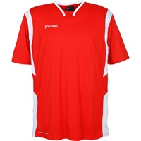 Spalding All Star Shooting Shirt - Rood / Wit