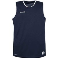 Spalding Move Basketbalshirt - Marine / Wit