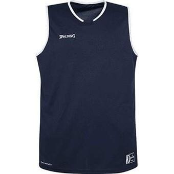 Picture of Spalding Move Basketbalshirt Kinderen - Marine / Wit