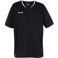 Spalding Move Shooting Shirt - Zwart / Wit