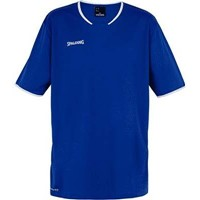 Spalding Move Shooting Shirt Kinderen - Royal / Wit
