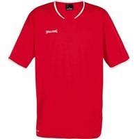 Spalding Move Shooting Shirt Kinderen - Rood / Wit