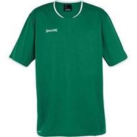 Spalding Move Shooting Shirt - Groen / Wit
