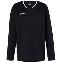 Spalding Move Shooting Shirt Lange Mouw Kinderen - Zwart / Wit