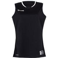 Spalding Move Basketbalshirt Dames - Zwart / Wit