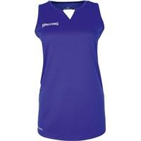 Spalding 4her III Basketbalshirt Dames - Royal / Wit