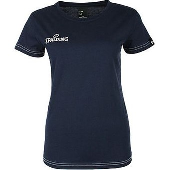 Picture of Spalding 4her Team II T-shirt Dames - Marine