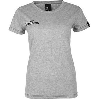 Picture of Spalding 4her Team II T-shirt Dames - Grijs Gemeleerd