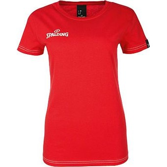 Picture of Spalding 4her Team II T-shirt Dames - Rood