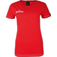 Spalding 4her Team II T-shirt Dames - Rood