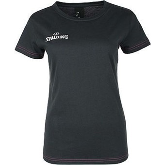 Picture of Spalding 4her Team II T-shirt Dames - Antraciet