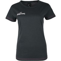 Spalding 4her Team II T-shirt Dames - Antraciet
