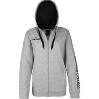 Spalding 4her Team II Sweater Met Kap Dames - Grijs Gemeleerd