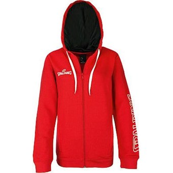 Picture of Spalding 4her Team II Sweater Met Kap Dames - Rood