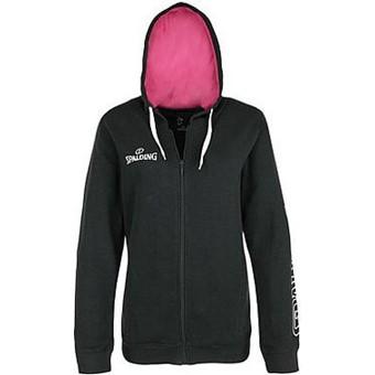 Picture of Spalding 4her Team II Sweater Met Kap Dames - Antraciet / Roze
