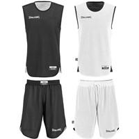 Spalding Double Face Reversible Basketbalset Kinderen - Black / White