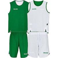 Spalding Double Face Reversible Basketbalset Kinderen - Groen / Wit