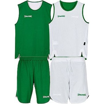 Picture of Spalding Double Face Reversible Basketbalset - Groen / Wit