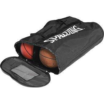 Picture of Spalding Ballentas Voor 6 Basketballen - Black