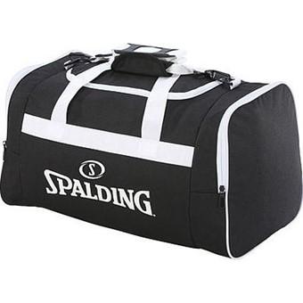 Picture of Spalding Team Bag Medium Sporttas Met Zijvakken - Zwart / Wit