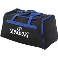 Spalding Team Bag Medium Sporttas Met Zijvakken - Zwart / Royal