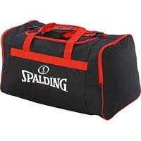 Spalding Large Sporttas Met Zijvakken - Zwart / Rood