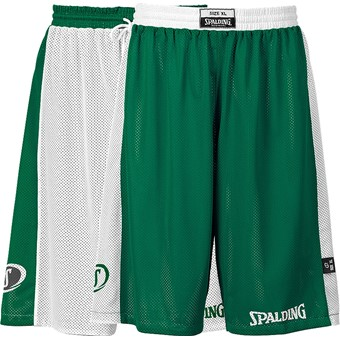 Picture of Spalding Essential Reversible Short Kinderen - Wit / Groen