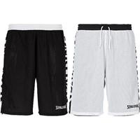 Spalding Essential 2.0 Reversible Short Kinderen - Zwart / Wit