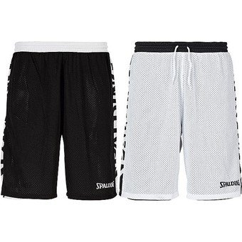 Picture of Spalding Essential 2.0 Reversible Short - Zwart / Wit