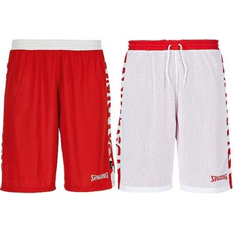 Picture of Spalding Essential 2.0 Reversible Short - Rood / Wit