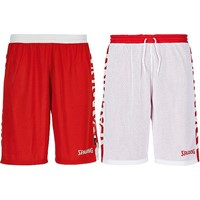 Spalding Essential 2.0 Reversible Short - Rood / Wit