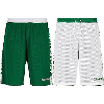 Picture of Spalding Essential 2.0 Reversible Short - Groen / Wit