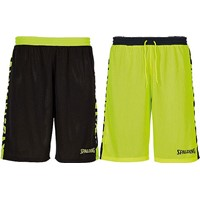 Spalding Essential 2.0 Reversible Short - Zwart / Fluogeel