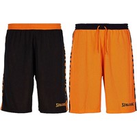 Spalding Essential 2.0 Reversible Short - Zwart / Oranje