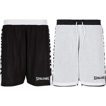 Picture of Spalding Essential 4her Reversible Short Dames - Zwart / Wit