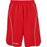 Spalding Crossover Basketbalshort - Red / White