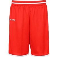 Spalding Move Basketbalshort - Rood / Wit