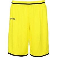 Spalding Move Basketbalshort Kinderen - Fluogeel / Zwart