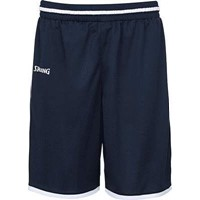 Spalding Move Basketbalshort - Marine / Wit
