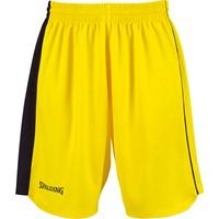 Spalding 4her 2 Basketbalshort Dames - Yellow / Black / White