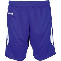 Spalding 4her III Basketbalshort Dames - Royal / Wit