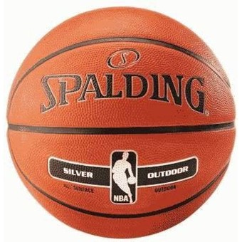 Picture of Spalding Nba Silver Series In/outdoor Basketbal - Oranje