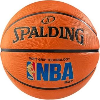 Picture of Spalding Nba Logoman Soft Grip Basketbal - Oranje / Blauw
