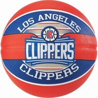 Spalding La Clippers (size 7) Team Outdoor Basketbal - Rood / Blauw