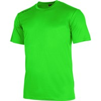 Stanno Field Shirt Korte Mouw Kinderen - Fluo Groen