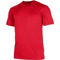 Stanno Field Shirt Korte Mouw Kinderen - Rood