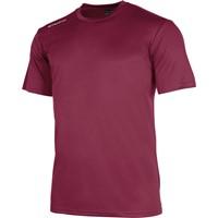 Stanno Field Shirt Korte Mouw Kinderen - Bordeaux