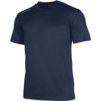 Stanno Field Shirt Korte Mouw Kinderen - Marine