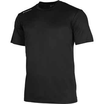Picture of Stanno Field Shirt Korte Mouw Kinderen - Zwart