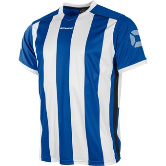 Picture of Stanno Brighton Shirt Korte Mouw Kinderen - Royal / Wit